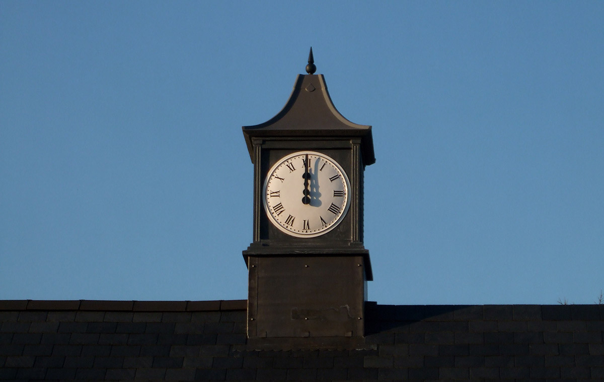 Graphit CLock Tower
