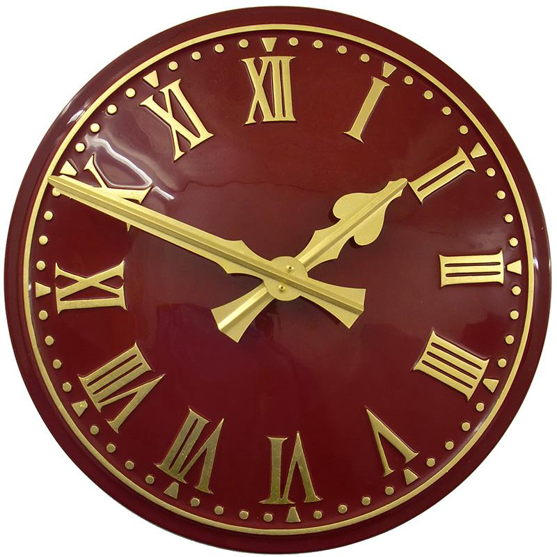Large Outdoor Clocks Traditional Exterior Clocks