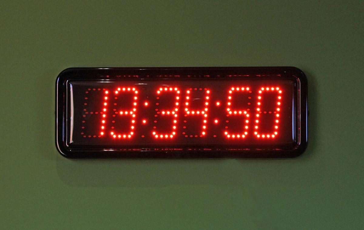 Digital Outdoor Clocks : Large LED Clocks