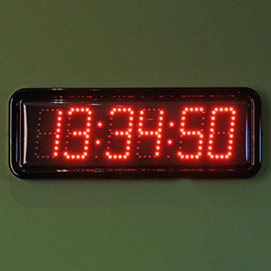 Digital Outdoor Clocks