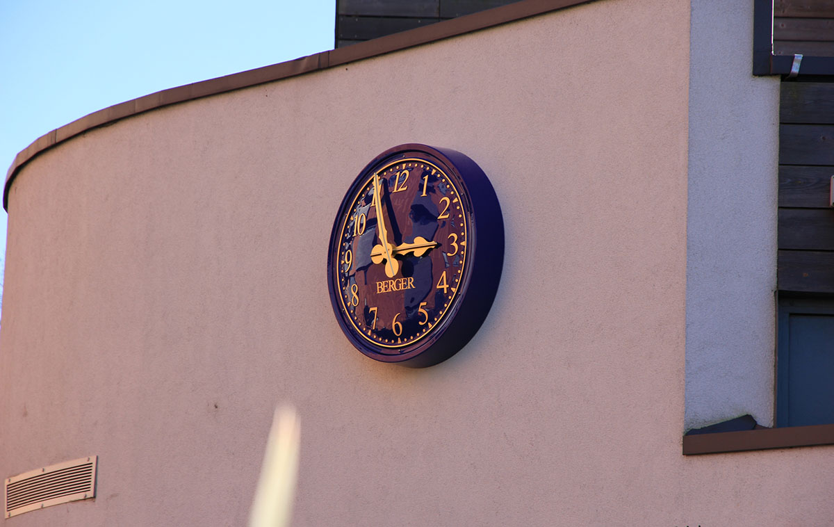 School Outdoor Clock